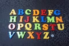 ABC/アルファベットマグネット/遊びながら勉強/26点