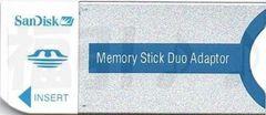 メモリースティックDuoアダプター(PRODuo→PRO/デュオ→メモステ)◆アルだけ同封OK