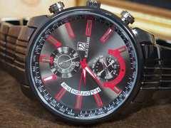 存在感が際立つ! ビッグ フェイス 腕時計 BLACK OCEANS メンズ