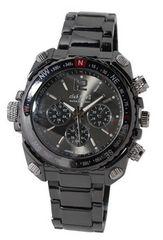 【送料無料】club faceblack メンズメタル腕時計☆CF-1060BK