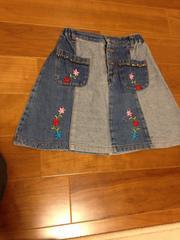 女の子用スカート  120