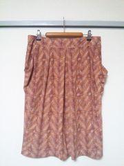大きいサイズ ワールド スカート・44