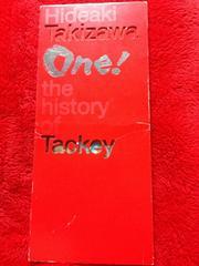 滝沢秀明 One! Tackey DVD Kis-My-Ft2 タッキー&翼