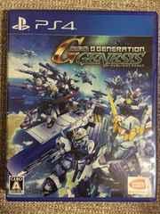 SDガンダム ジージェネレーションジェネシス 極美品 コード付PS4