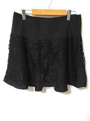 ロジータ 黒レース付きスカート