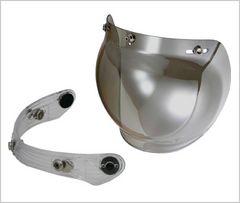 リード工業 PZ-010 シルバーミラー バルブ セット 3ホック 汎用