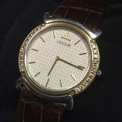 SEIKO クレドール、リネアクルド ダイヤモンドベゼル 18k