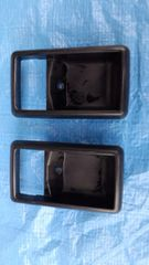 トヨタAE86純正ドアインサイドハンドルベゼルLR左右セット中古品