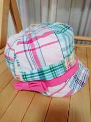 ラス1半額sale新品★サンディエゴ★パッチワーク・チェック・キャップ帽子