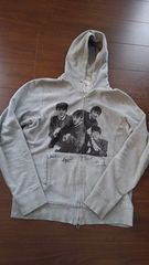 MEN'S BIGI�޷�/BEATLES�ް�ٽ������ZIP�߰��/���~���ڰ/M