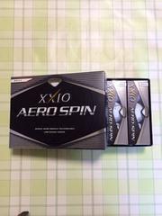 ゼクシオAERO-SPIN・ゴルフボール 3ダース