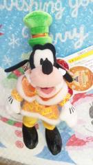ディズニーシーTDS/カラー・オブ・クリスマス/30周年/ぬいぐるみバッジ/グーフィー