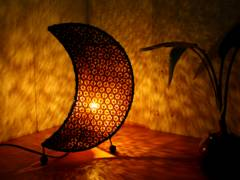 ムーンランプ 月型間接照明 bari バリ島 リゾートホテル