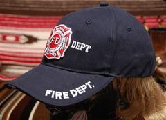 ROTHCO社製「US.消防署」ベースボールキャップ新品