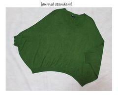 ジャーナルスタンダード*journal standardウールドルマンプルオーバーused