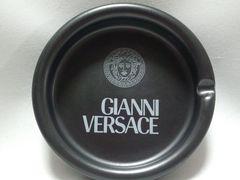 正規新古 非売 激レア ヴェルサーチ VERSACE メデューサロゴ 灰皿 黒 アッシュトレイ