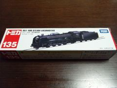 トミカ135 D51 498 蒸気機関車†ミニカー