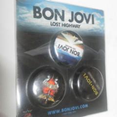 BON JOVI ラストハイウェイ 非売品 カンバッチセット 新品