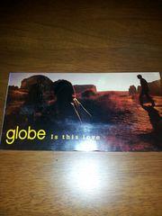 globe*Isthislove〇CDシングル美品!小室哲哉*