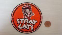 新品 大判 アイロンワッペン ��270 STRAY CATS