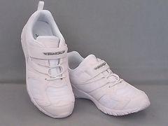 上履きや通学靴に!「瞬足」JJ988/23.5cm・白