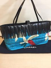 1円 ◆正規品◆ 極上美品 シャネル フリンジ バッグ