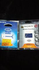 SONY 128MB 16MB×2 デュオアダプター×2セット激安