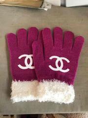 手袋  パープル