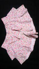 オーシャンパシフィック小花柄フリルキュロットスカートショーパン水着UVカットラッシュガード