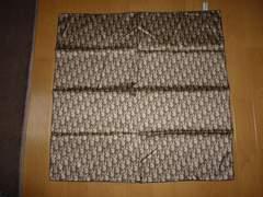 ★新品★Christian Diorクリスチャンディオールスカーフ茶色