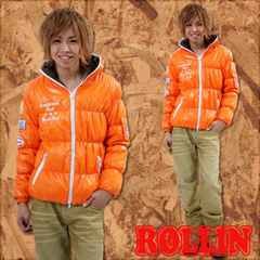 Rollin(ローリン)梅しゃん着中綿ダウンジャケット/L