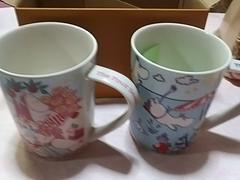 マグカップ2個(春&夏)