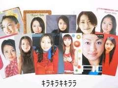 飯田圭織モーニング娘。★コレクションカード/トレーディングカード11枚セット