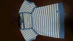 BURBERRYブルーレーベルボーダーTシャツ