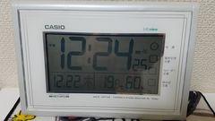 CASIO電波掛け置時計