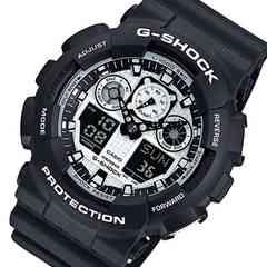 カシオ CASIO ジーショック ホワイト&ブラック 腕時計