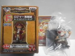 ワンピースONE PIECE一番くじF賞ロジャー海賊団カードスタンドフィギュアバギー