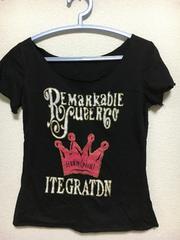 王冠柄 Tシャツ レディース Mサイズ
