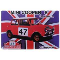 �u���L�Ŕ� �~�j�N�[�p�[ MINI COOPER S The Wunder Car
