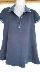 BURBERRYブルーレーベルAラインポロシャツ
