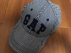 GAP* ストライプキャップ 帽子 美品