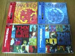 TMN CD 4枚セット LIVE/BLUE/RED