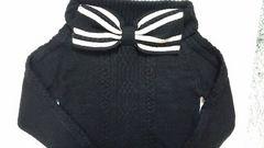 axesセーター黒 未使用