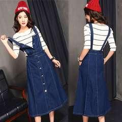 ■新品■大人可愛いロングサトペットデニムスカート