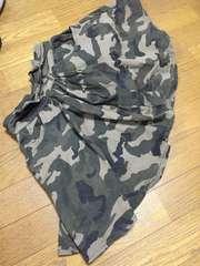 迷彩柄キュロットスカート150センチ