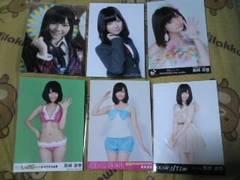 送込難あり島崎遥香AKB48公式生写真6枚セット