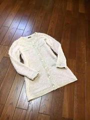 【C.D.S】フワフワシャギー◆暖かロングニットカーデ&ジャケ