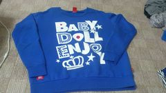 BABY DOLL 可愛いトレーナー(L)