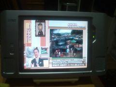 カシオワイヤレス防水テレビXF-1000