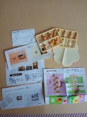 シルバニアファミリー小物セット�B(雑誌や焼き菓子)未使用保管品